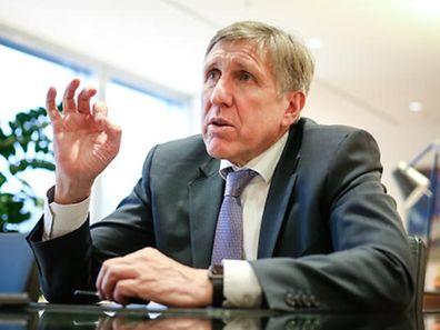 François Bausch, ministre des Transports, du Développement Durable et des Infrastructures.