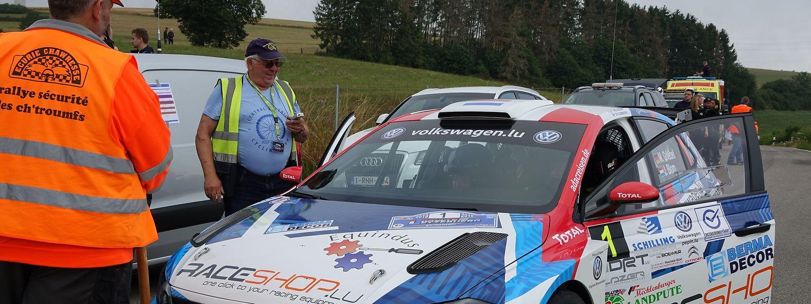 La VW Polo FTI R5 de Marijan Griebel et Johny Blom