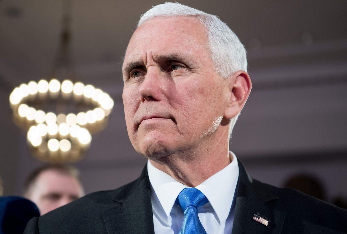 Trumps loyalster Mann: Nur wenige Mitarbeiter sind ihrem Boss so treu wie US-Vizepräsident Mike Pence.