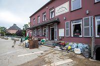 17/07/2021 , Heischwasser, Inondation , Jardin Gourmand, Hesperange , Hesperange , © Laurent Blum
