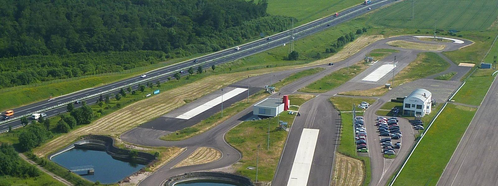 Das Centre de formation pour conducteurs in Colmar-Berg.