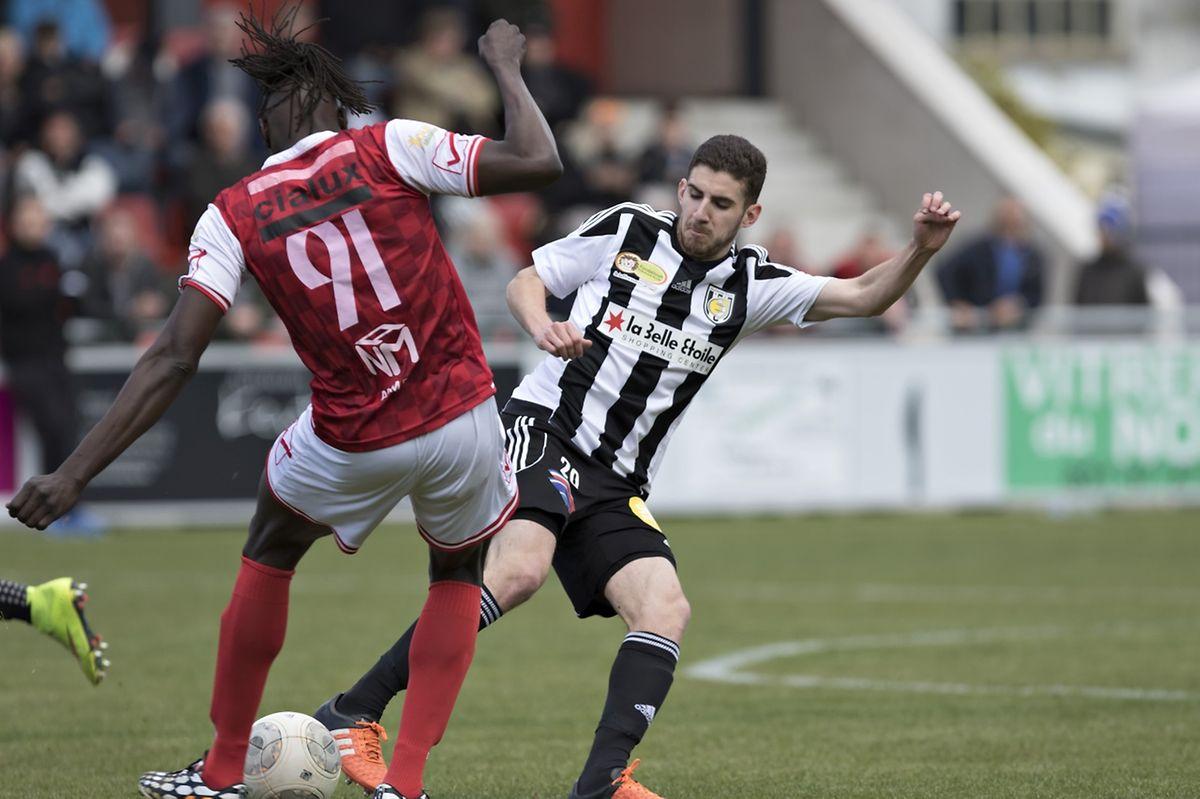 David Soares et la Jeunesse ont facilement contourné le FC Wiltz de Babacar Sène