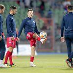 Luxemburgo também já fez o treino de preparação para o frente a frente com Portugal
