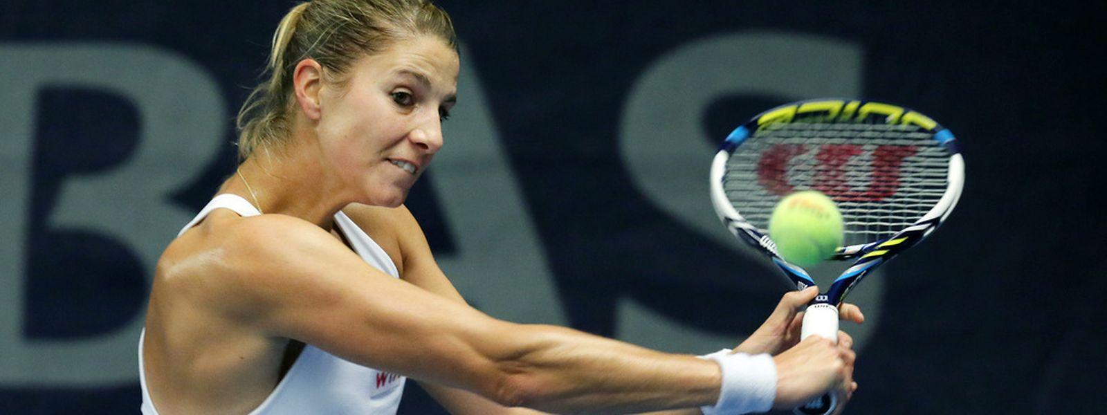 Für Mandy Minella ist das Turnier in Auckland auch im Doppel beendet.