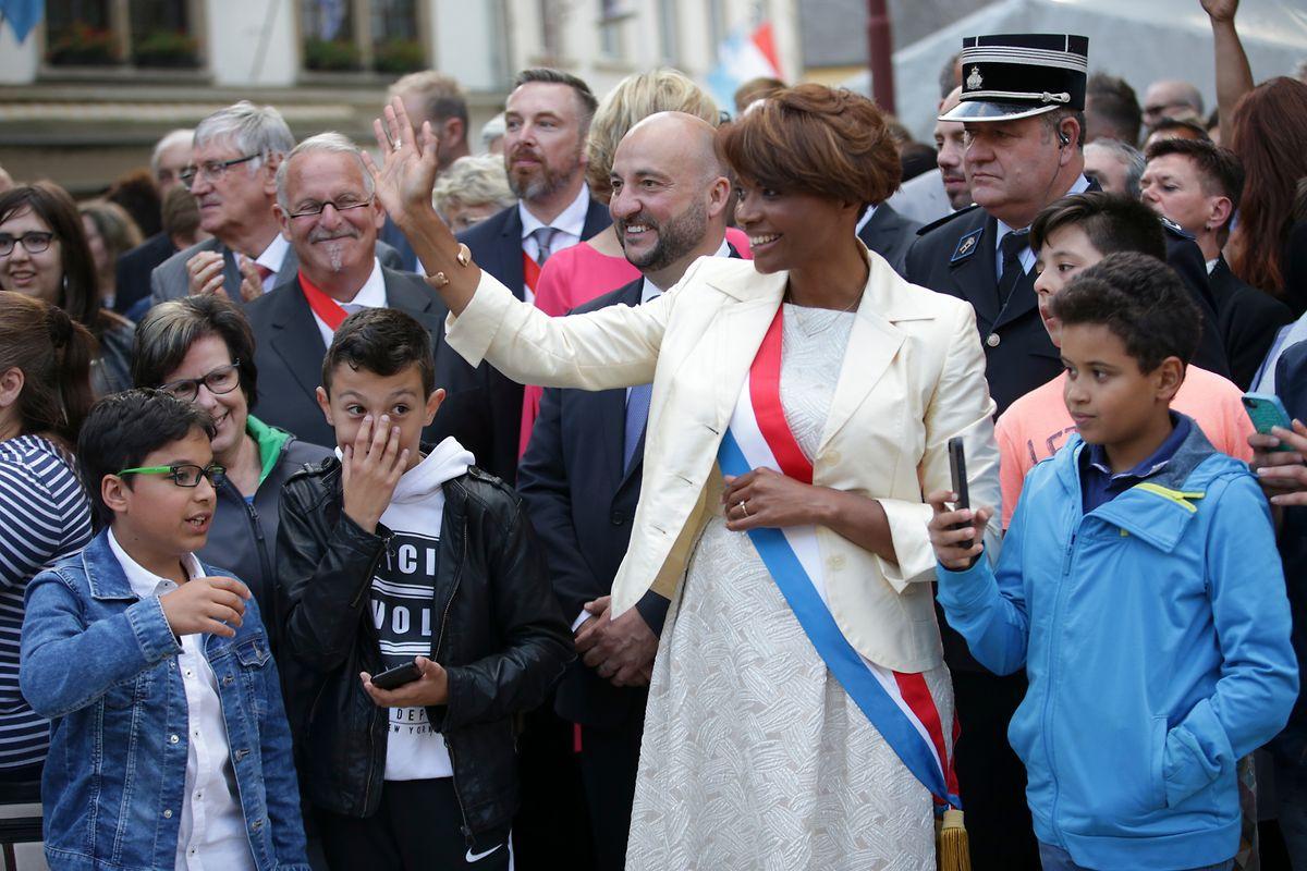 Natalie Silva foi eleita burgomestre de Larochette em outubro de 2017.