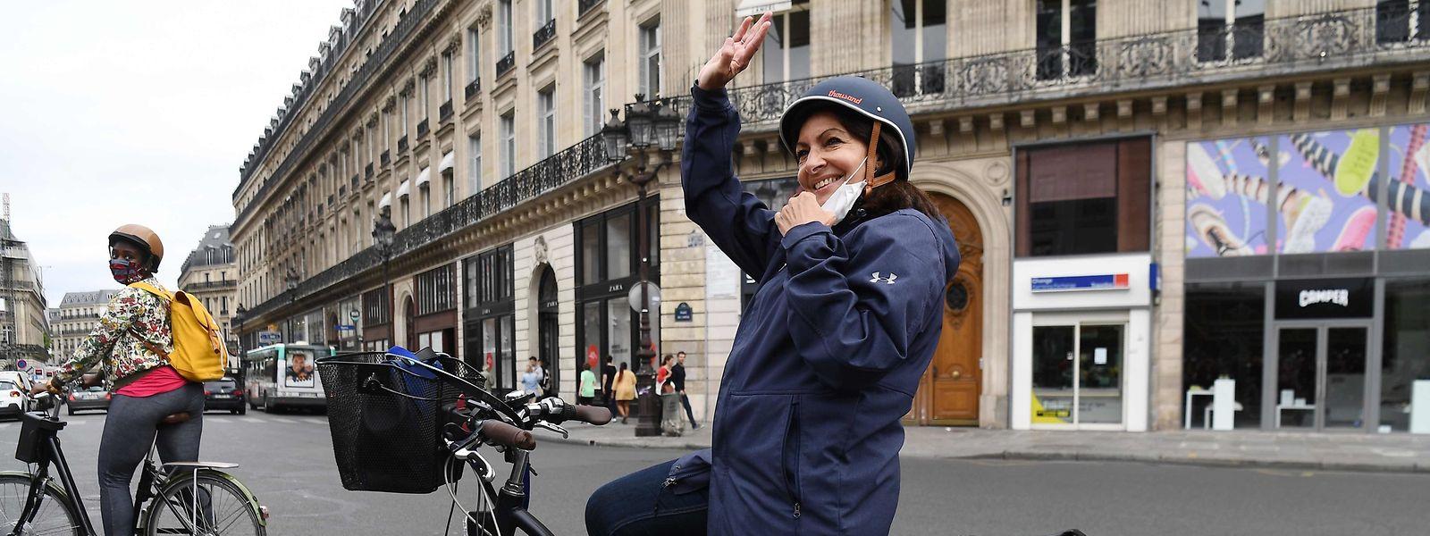 Anne Hidalgo, maire socialiste de Paris,  compte parmi les candidats potentiels de la gauche pour l'élection présidentielle.