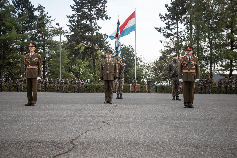 La passation de pouvoir entre le général Duschène et le général Thull s'est déroulée mardi 29 septembre 2020.