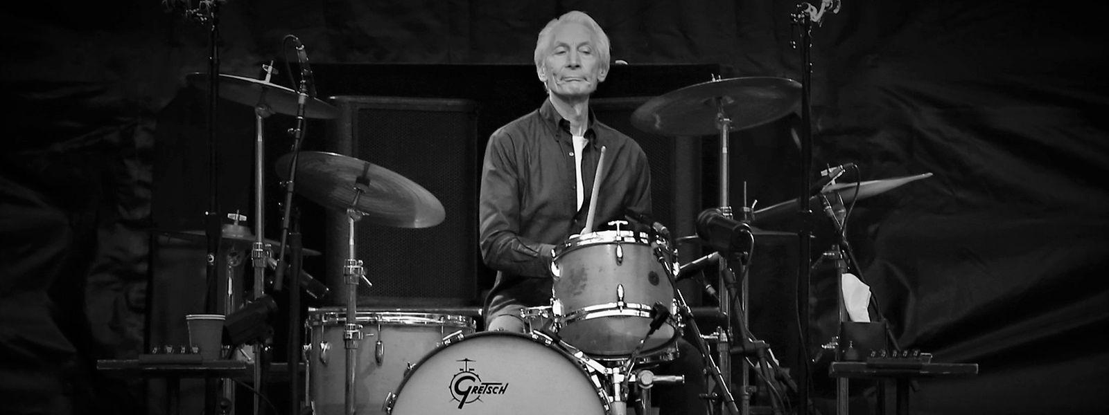 Understatement als Statement: Charlie Watts minimalistisches Drumset ist legendär.