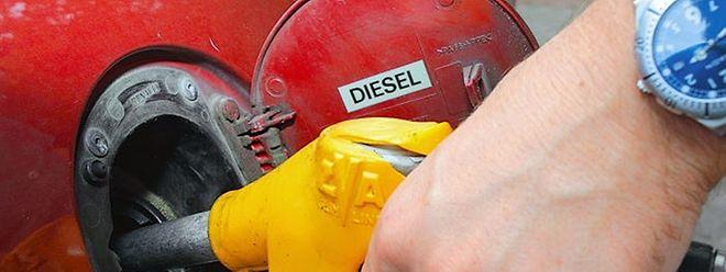 In Luxemburg wird fünf Mal mehr Diesel als Benzin verkauft.