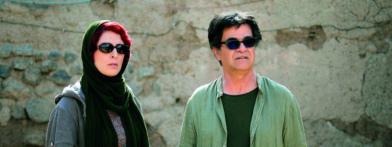 Schauspielerin Behnaz Jafari und Filmregisseur Jafar Panahi. Sie spielen im Film ihre eigenen Rollen.