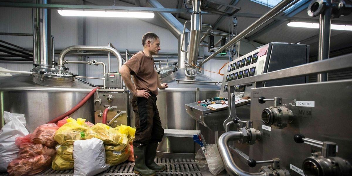 «Nous remplaçons une partie du malt par du pain», explique Alex Balchin, à la tête de la brasserie.
