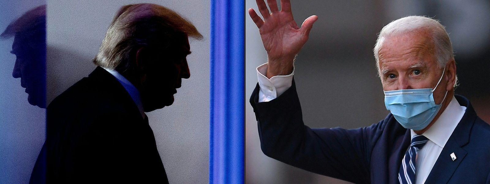 Entgegen der Tradition wird Donald Trump (l.), dem nach seinem Ausscheiden eine Verurteilung durch den US-Senat droht, heute nicht bei der Amtseinführung seines Nachfolgers anwesend sein.