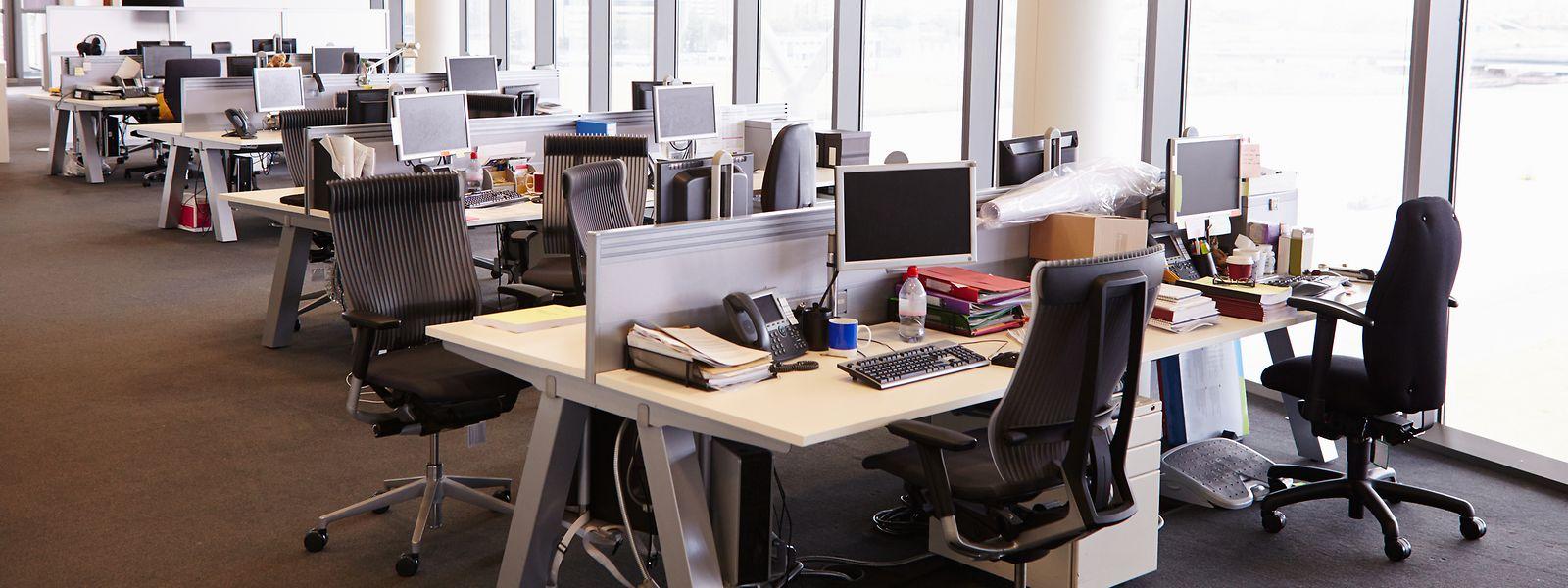 Leerstand durch Homeoffice: Viele Arbeitsplätze bleiben auch nach der Lockerung der Einschränkungen noch leer.