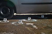 Der Täter hatte die Frau in ihrem Fahrzeug erschossen.