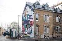 Esch/Alzette ,Geplante Fixerstube in  Esch/Alzette , Foto:Guy Jallay/Luxemburger Wort