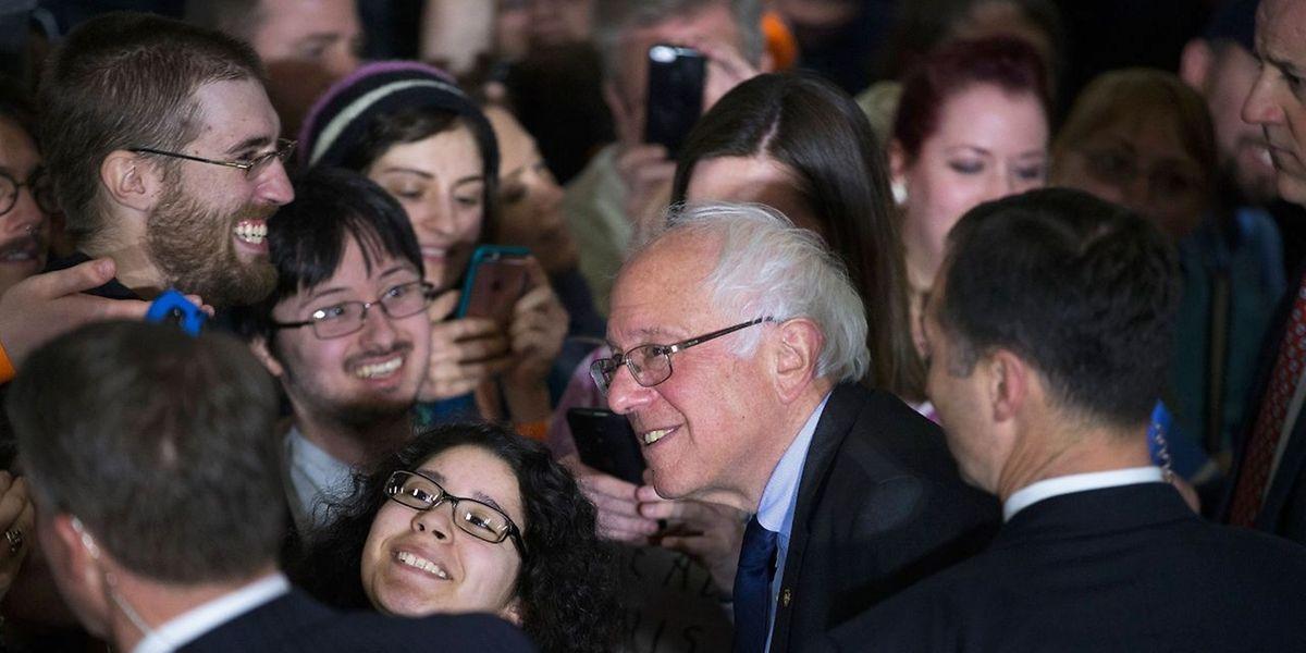 Bernie Sanders hat in Washington, Alaska und Hawaii gewonnen.