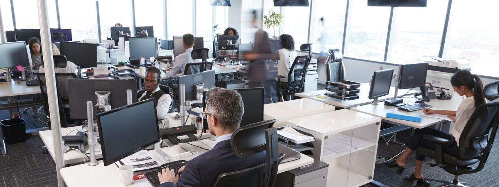 Les nouveaux espaces de travail pourraient davantage se présenter sous forme d'alcôves.