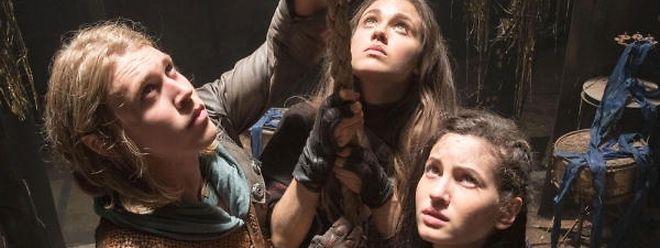 Die Protagonisten: Jungdarsteller wie Austin Butler, Ivana Baquero und Poppy Drayton (v.l.n.r.) spielen die Hauptrollen.