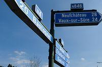 """Road Trip N4, Nationale 4 Belgique,  ici: N 50° 02.666"""" EO 05°34,152"""" Martelange,   Foto: Marc Wilwert"""