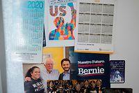 Le sénateur socialiste Bernie Sanders bénéficie d'une belle avance, suivi par l'ancien vice-président Joe Biden