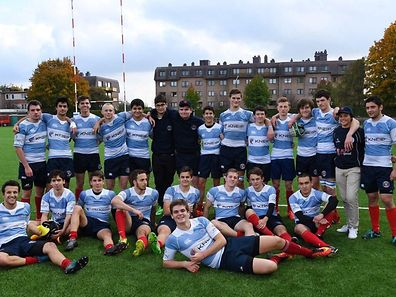 The RCL U18s team pose for a photo