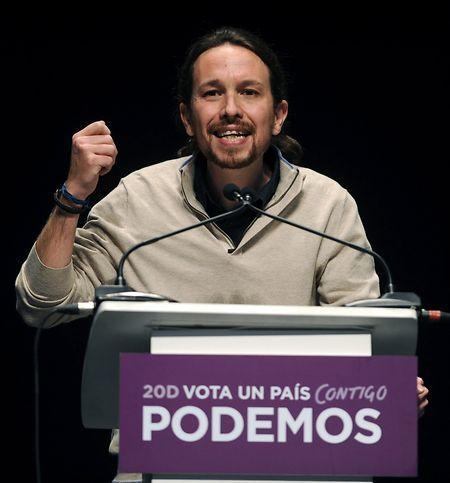 Pablo Iglesias von Podemos.