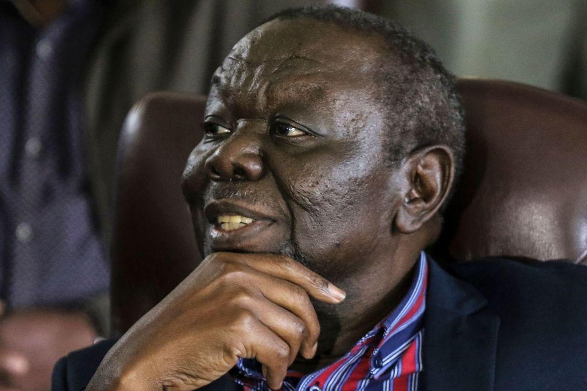 Zimbabwe's Movement for Democratic Change leader Morgan Tsvangirai.