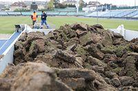 SPO, Fußballstadion, Stade Josy-Barthel,  Luxembourg vs Portugal, Pelouse, Rasen, foto: Chris Karaba/Luxemburger Wort