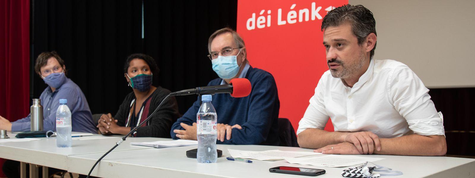 Die Déi Lénk Stad fordern erschwinglichen Wohnraum, mehr Bürgerbeteiligung und eine bessere Integration der sanften Mobilität.