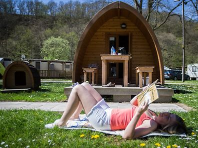 Camping,Glambing,Modernes campen.hier:Camping Kautenbach. Foto:Gerry Huberty