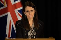 Primeira-ministra neo-zelandesa, Jacinda Ardern