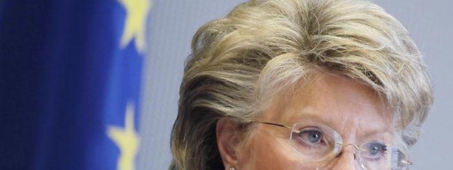 EU-Kommissarin Viviane Reding redet Klartext in Sachen NSA und Datenschutz für europäische Bürger.