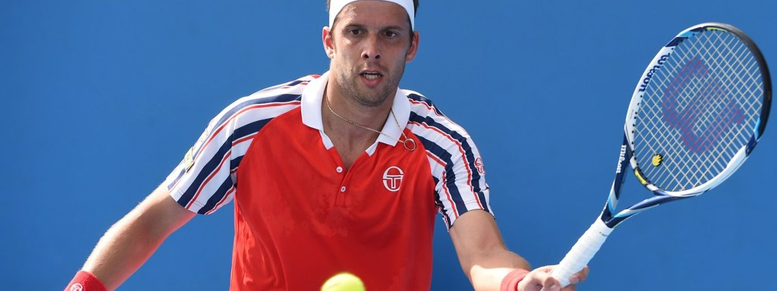 Malgré toute son abnégation, Gilles Muller n'a rien pu faire face au n°3 mondial, Andy Murray, ce mardi à Dubaï