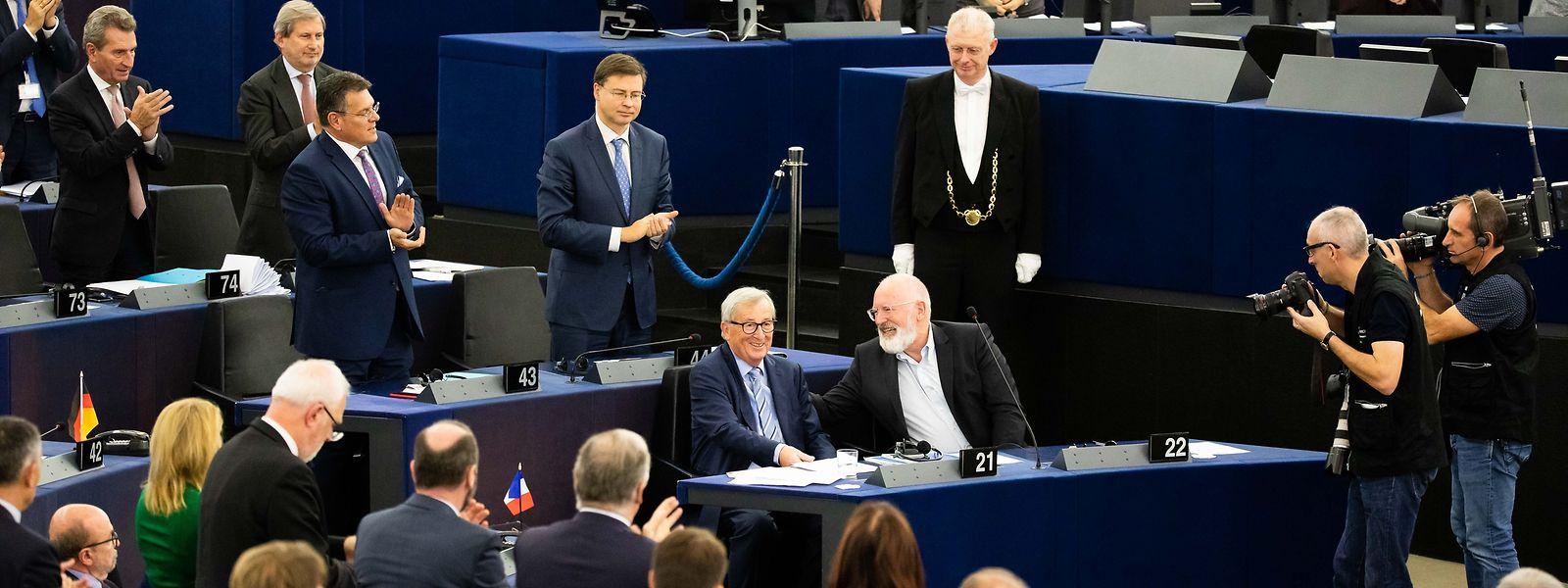 Jean-Claude Juncker in seinem natürlichen Habitat.