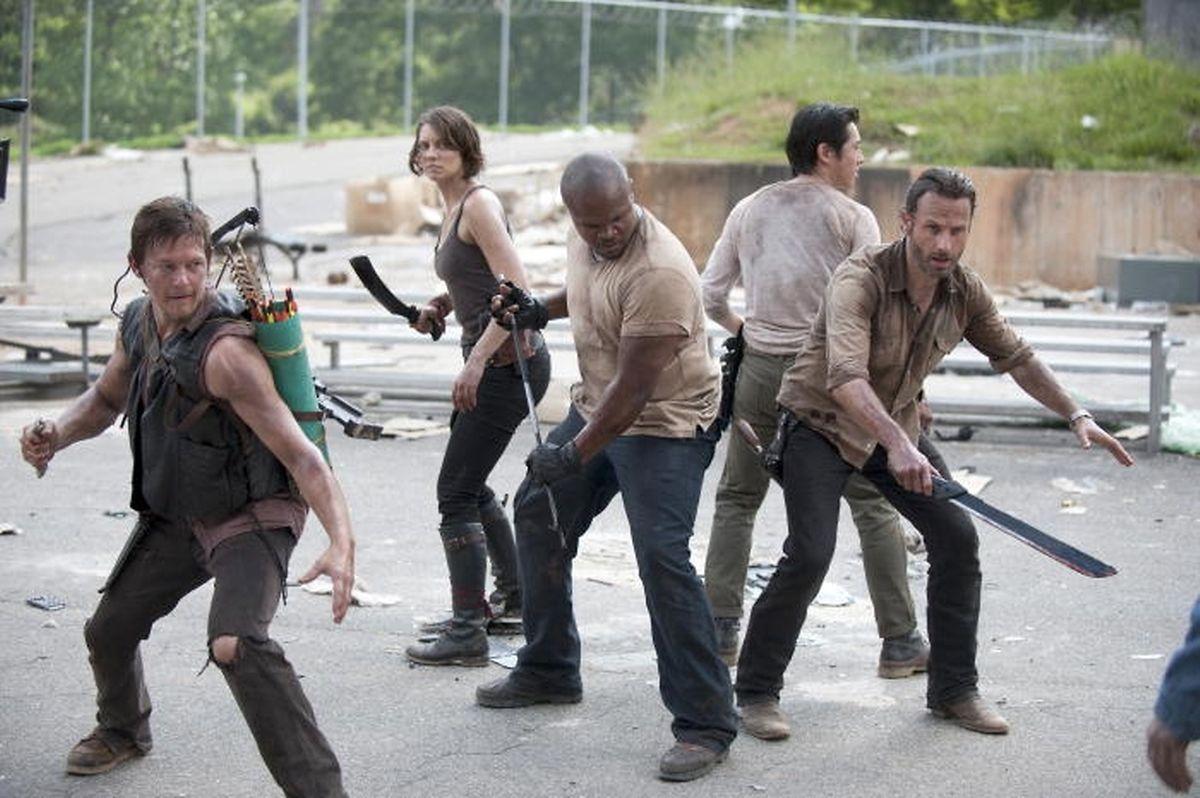 Nicht nur gegen Untote - vor allem gegen Lebende müssen sich Rick und seine Gruppe wehren.