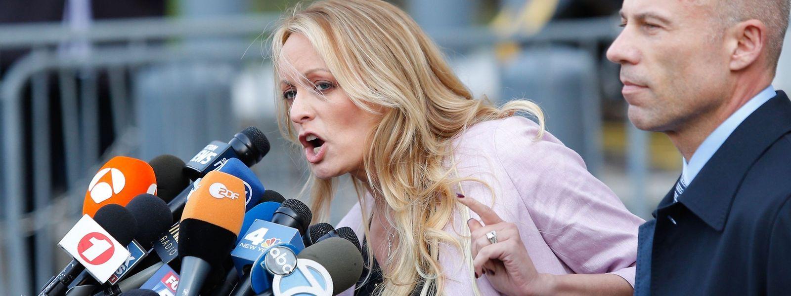 Stephanie Clifford behauptet, 2006 Sex mit Donald Trump gehabt zu haben. Der Präsident bestreitet das. Unklar bleibt eine Zahlung von 130.000 Dollar an Clifford im Jahr 2016.