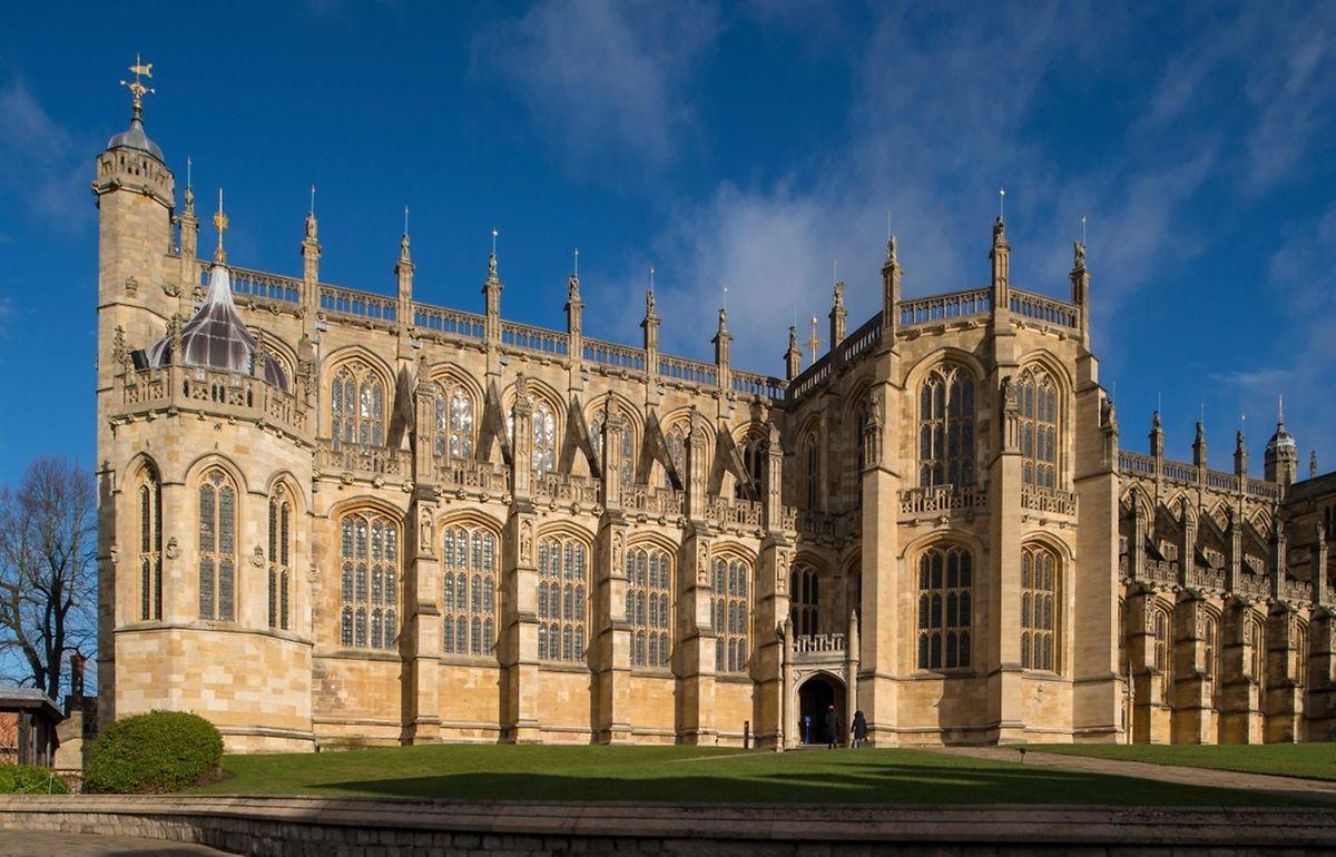 Die Trauung wird in der St George's Chapel auf Windsor Castle gefeiert.