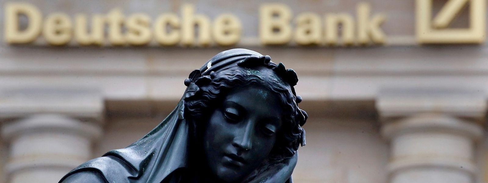 Wie wird es weitergehen? Die Deutsche Bank befindet sich seit Wochen in der Krise.