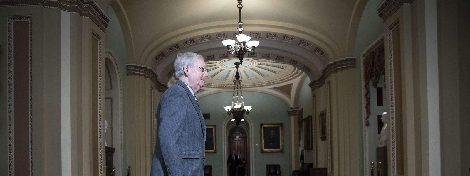 Mitch McConnell, republikanischer Mehrheitsführer im US-Senat, ist seit Mitglied im US-Senat.