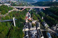 Pont Rouge - Rout Bréck - Luxembourg - Photo : Pierre Matgé
