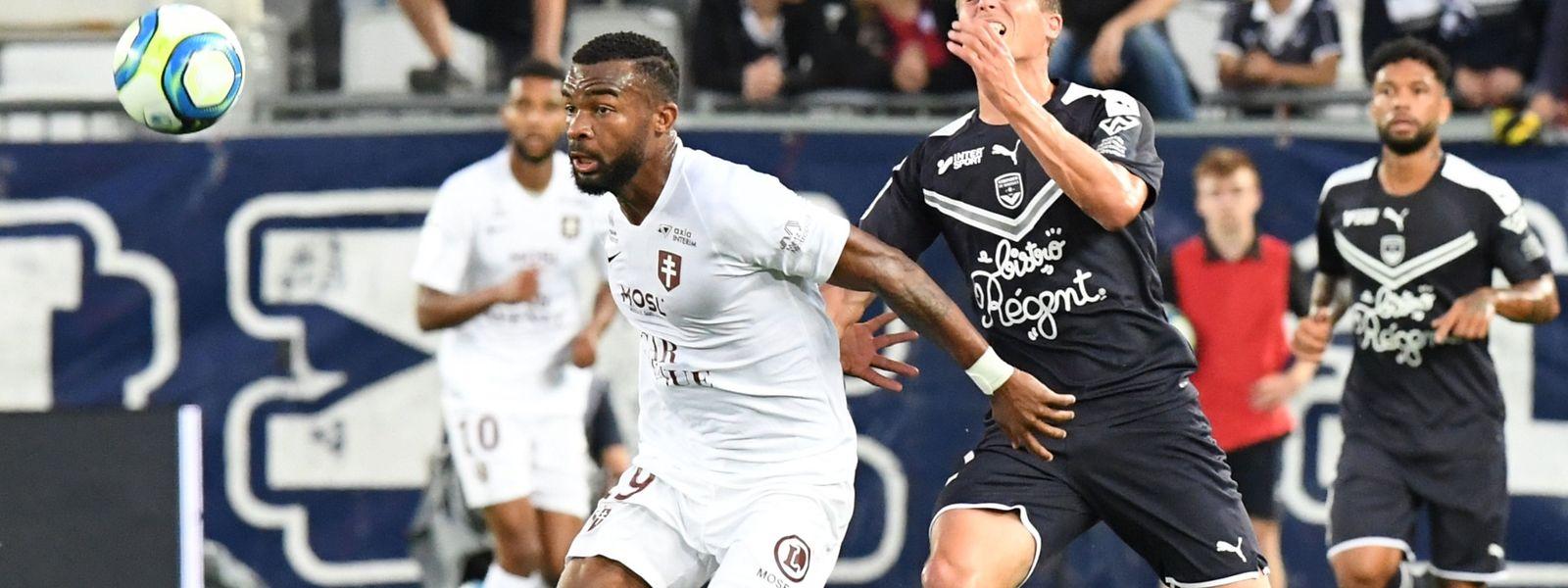 Insipides à Bordeaux, Habib Maiga (en blanc) et les Messins doivent une revanche à leurs supporters samedi contre Amiens