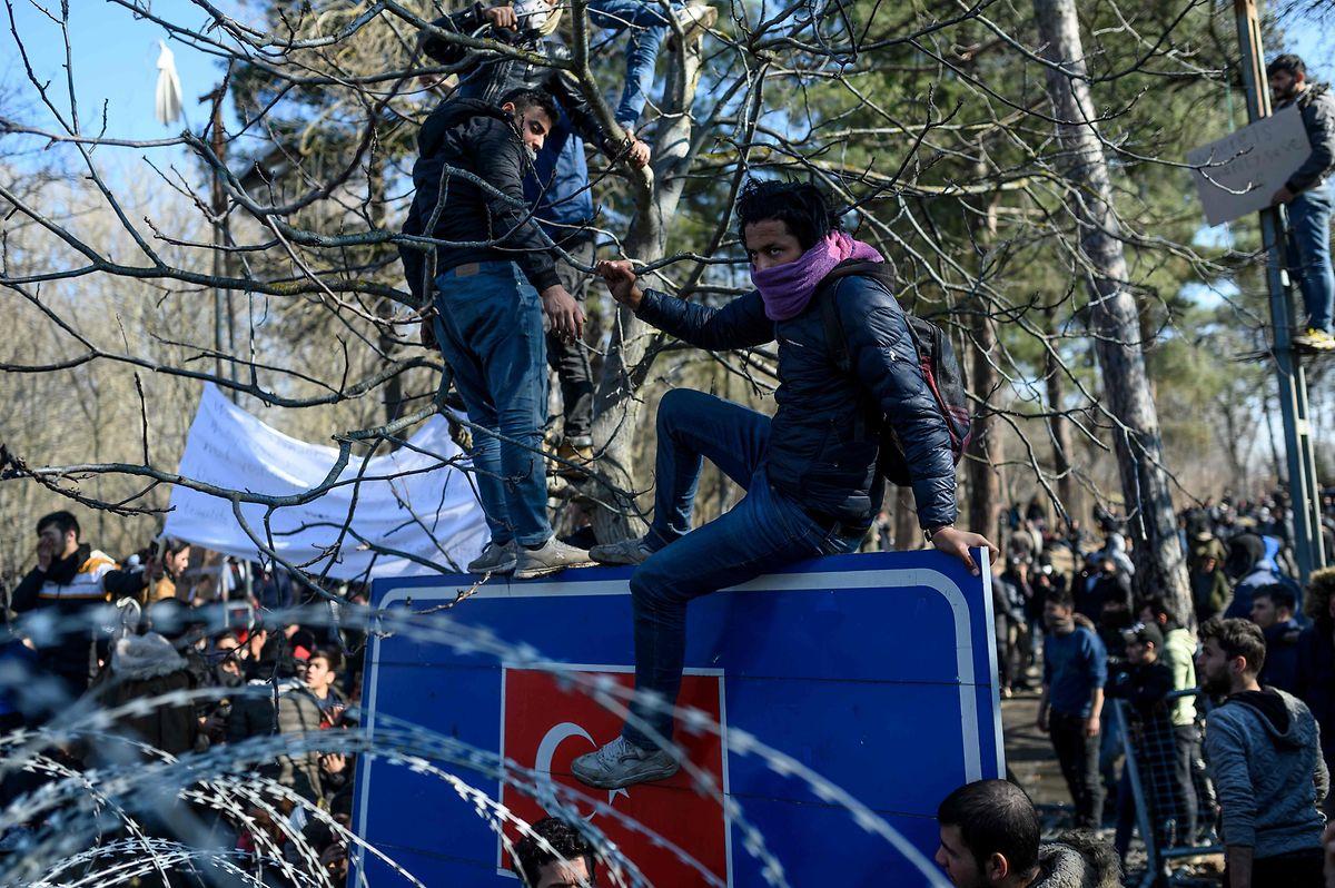 An der Grenze zu Griechenland spielten sich in den vergangenen Tagen dramatische Szenen ab.