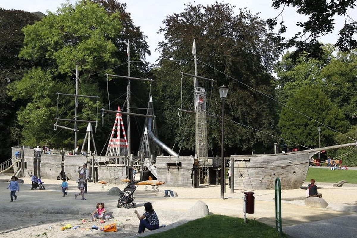 Beim Piratenschiff im Stadtpark wird am Nationalfeiertag so einiges los sein.