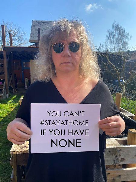 Fabienne Dimmer setzt sich für den Schutz von Flüchtlingen ein.