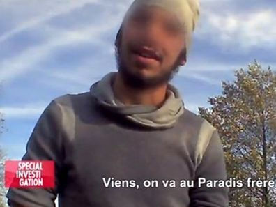 """""""Come, we're going to heaven brother"""", says a member of a jihadist cell to the French journalist who infiltrated the group for 6 months"""