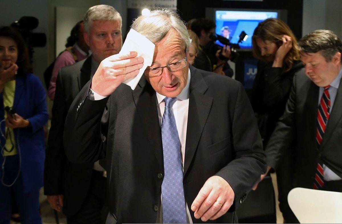 Jean-Claude Juncker à Bruxelles, le 26 mai 2014