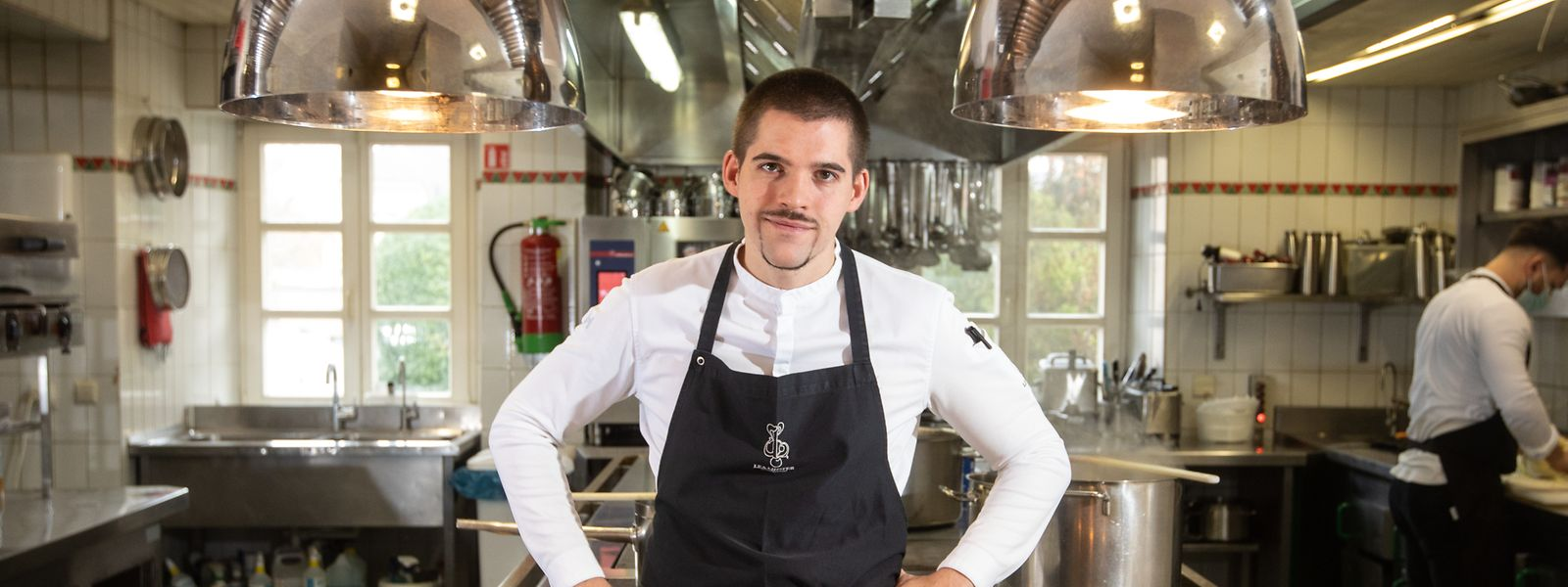 """Louis Linster übernahm das Sternerestaurant """"Léa Linster"""" 2018 von seiner Mutter."""