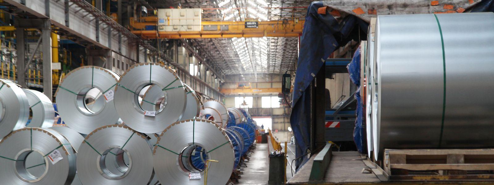 In Düdelingen stellt Liberty Steel Flachstahl her. Der Standort ist abhängig von Lieferungen aus dem Schwesterwerk im belgischen  Lüttich.