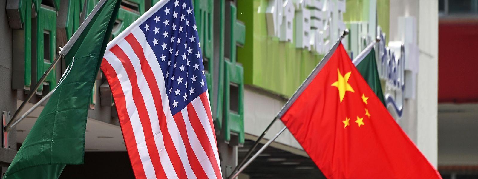 Noch stehen die USA an der Spitze der Weltordnung - aber das Reich der Mitte holt auf.