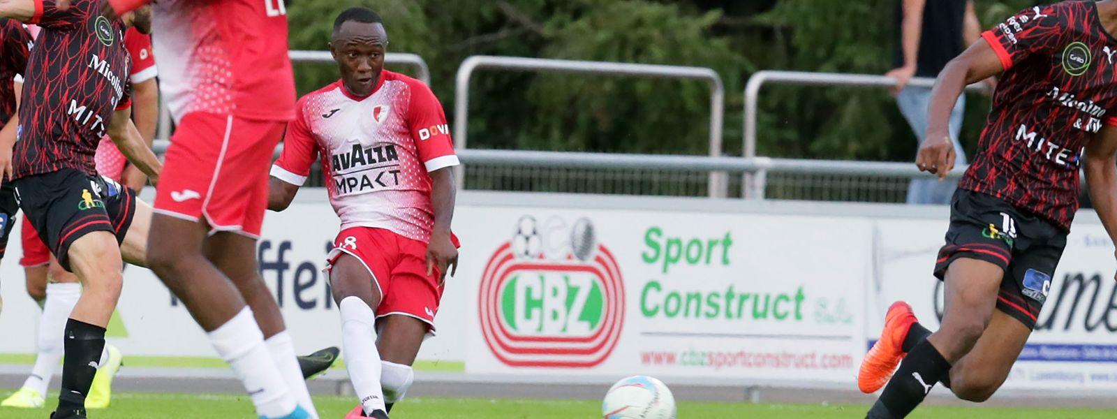 Mohamed Loua et le Swift ont dominé Differdange sur le score de 3-1.